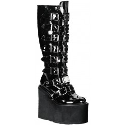 Swing Buckled Womens Platform Boots Mild to Wild Womens Shoes  Shoes for Women from Flats to Extreme High Heels & Platforms