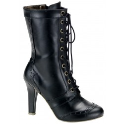 Victorian Tesla Granny Boot Mild to Wild Womens Shoes  Shoes for Women from Flats to Extreme High Heels & Platforms