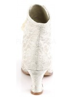 Victorian Jane Champagne Lace Ankle Boot at Mild to Wild Womens Shoes,  Shoes for Women from Flats to Extreme High Heels & Platforms