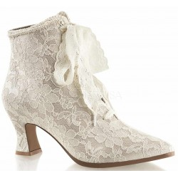 Victorian Jane Champagne Lace Ankle Boot Mild to Wild Womens Shoes  Shoes for Women from Flats to Extreme High Heels & Platforms