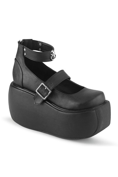 Violet Black Mary Jane Platform Pump at Mild to Wild Womens Shoes,  Shoes for Women from Flats to Extreme High Heels & Platforms
