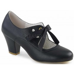 Wiggle Vintage Style Mary Jane Shoe in Black Mild to Wild Womens Shoes  Shoes for Women from Flats to Extreme High Heels & Platforms