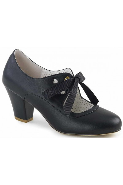 Wiggle Vintage Style Mary Jane Shoe in Black at Mild to Wild Womens Shoes,  Shoes for Women from Flats to Extreme High Heels & Platforms