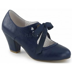 Wiggle Vintage Style Mary Jane Shoe in Navy Blue Mild to Wild Womens Shoes  Shoes for Women from Flats to Extreme High Heels & Platforms