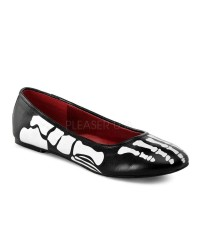 X-Ray Skeleton Ballet Flats