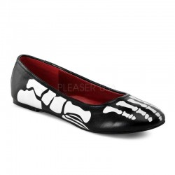 X-Ray Skeleton Ballet Flats Mild to Wild Womens Shoes  Shoes for Women from Flats to Extreme High Heels & Platforms